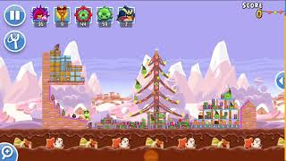 Angry Birds Friends 1st Jan 2018 Level 2 SANTACOAL & CANDYCLAUS TOURNAMENT.