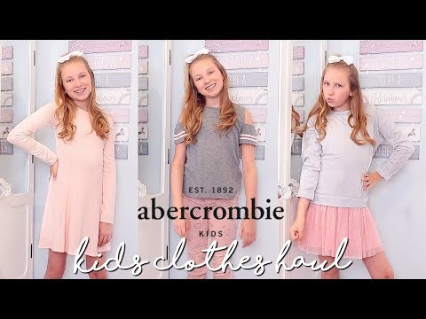 ABERCROMBIE KIDS TRY ON HAUL! | Coco's World