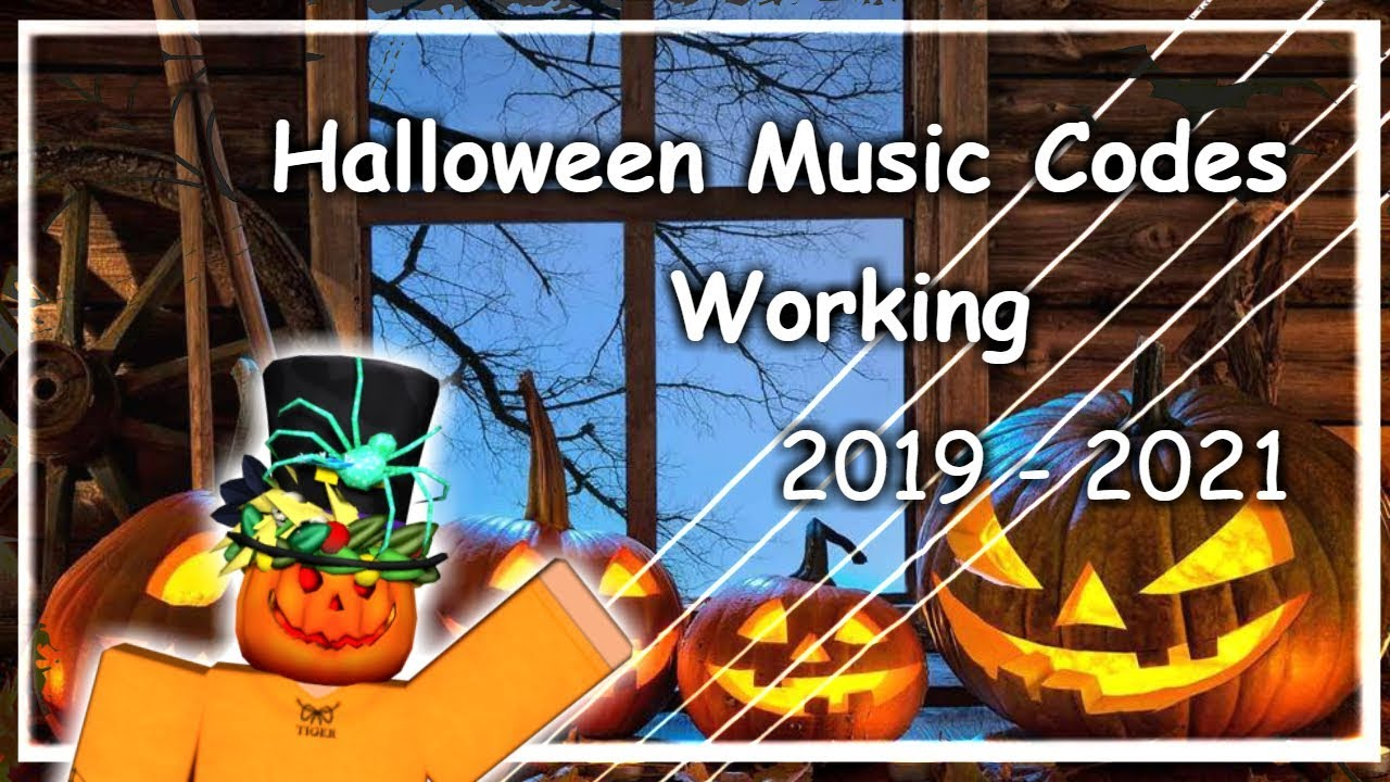 roblox codes halloween 2019