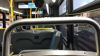 MTA NYC Bus: Onboard XN40 722 On The Bx27