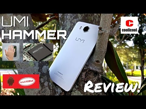 """Umi Hammer - """"The Unbreakable Phone"""" [Full Review] - MTK6732 - 2GB/16GB - 5.0"""" IPS OGS - 4G LTE"""