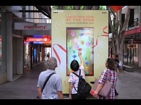 The Star celebrates CNY with interactive Good Fortune campaign | JCDecaux Australia