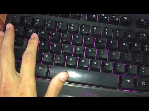 Sửa Bàn Phím PC Bị Liệt Nút , Liệt Phím Bấm Part 1