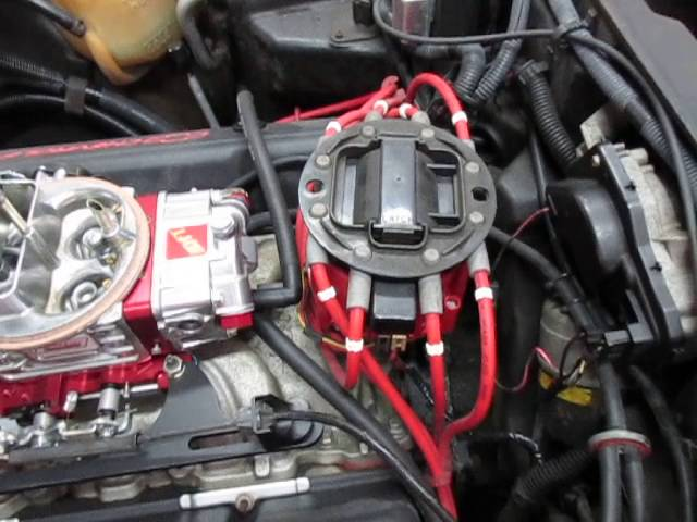 HEI Distributor Installation for V-8s - YouTube | Chevy 350 Distributor Wiring |  | YouTube