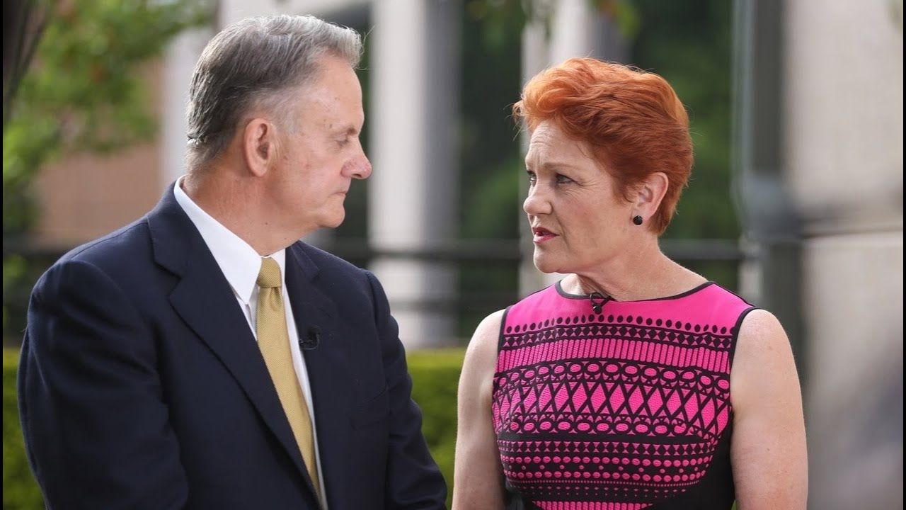 Latham ridicules 'woke corporate elites' after Hanson is banned from Channel Nine