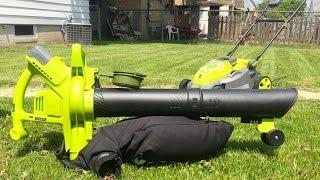 Sun Joe ION BV 3-In-1 Cordless Blower Vacuum Mulcher - Unboxing