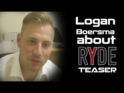 Logan Boersma about Ryde Movie