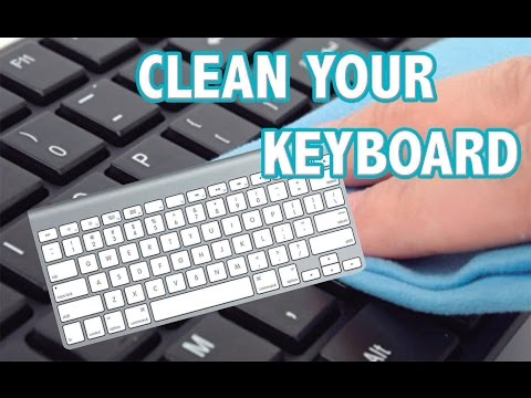 HOW TO CLEAN YOUR iMAC KEYBOARD TUTORIAL VIDEO