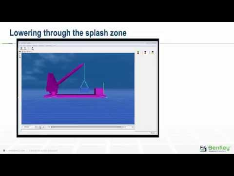 MOSES - 해양 구조물 리프팅 시뮬레이션 for Marine Operation