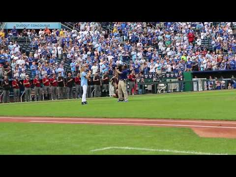 Lily Jewel Koen - Age 12, Sings for the Kansas City Royals on October 1, 2017