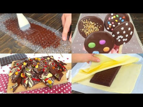4 amazing chocolate decorations to try