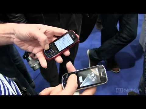 Беглый видео обзор новинок от Nokia - Asha 202 и Asha 203