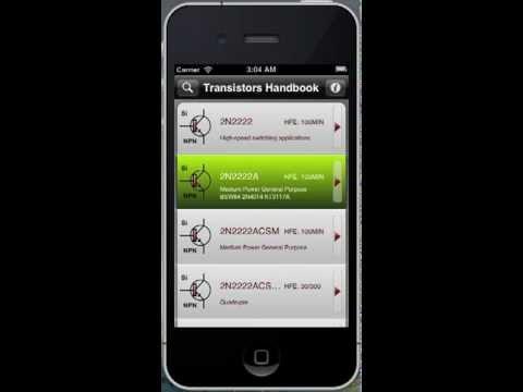 Transistor Handbook iPhone App