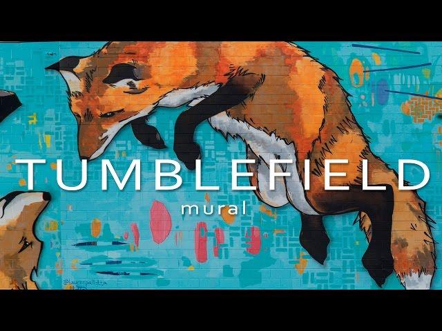 Tumblefield - Mural Painting - Norcross