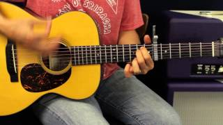 Eric Church - Talladega - Acoustic Guitar Lesson - EASY Country Song On Guitar