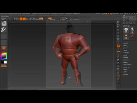 Download Modelling Mr  Incredible   Part 1  zSpheres S2