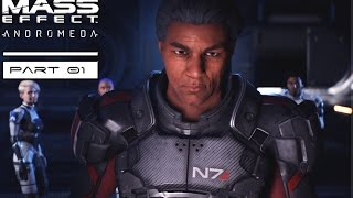Mass Effect Andromeda Longplay Part 1 - Welcome to Andromeda! No Commentary Longplay Playthrough!