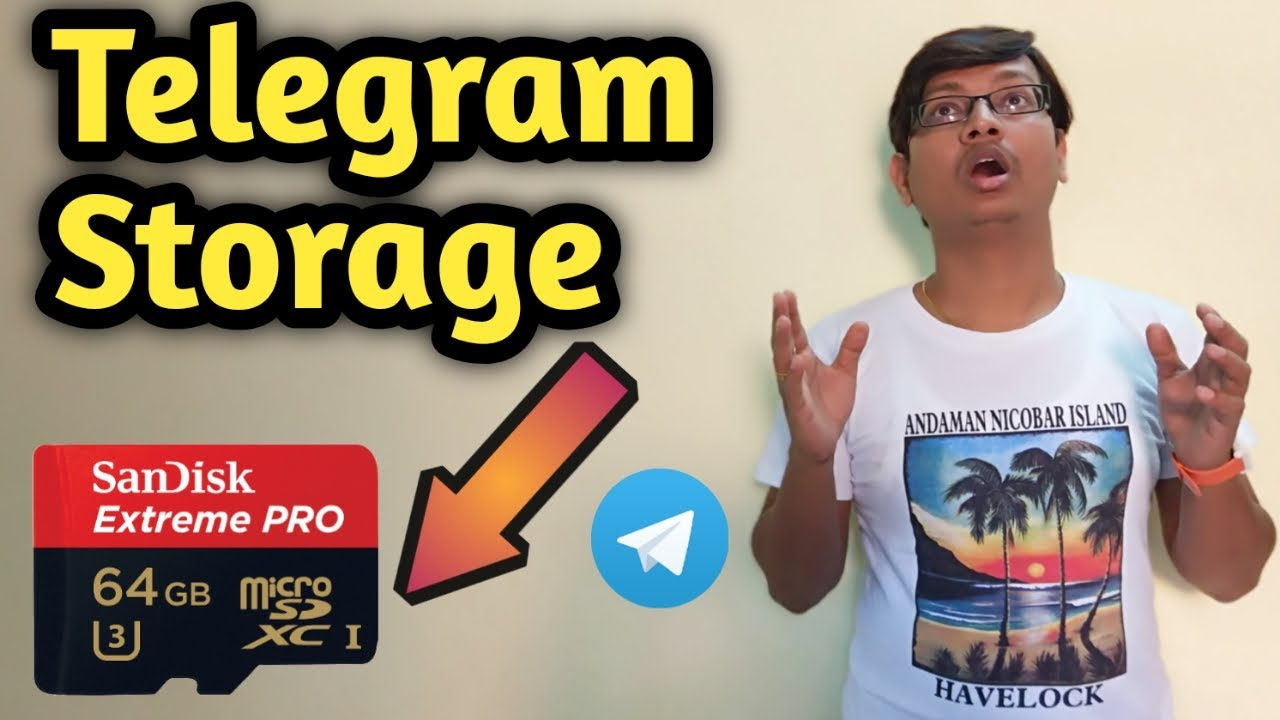 Change Telegram Storage to Memory Card (100% Working, Most Awaited Video of  2019)