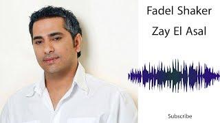 Fadel Shaker - Zay El Asal - فضل شاكر زي العسل