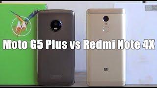 NACIONAL VS IMPORTADO - Qual o melhor para você? Moto G5 Plus vs Redmi Note 4X - Comparativo