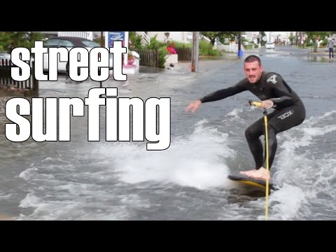 Epic Street Surfing in New Jersey | GoPro