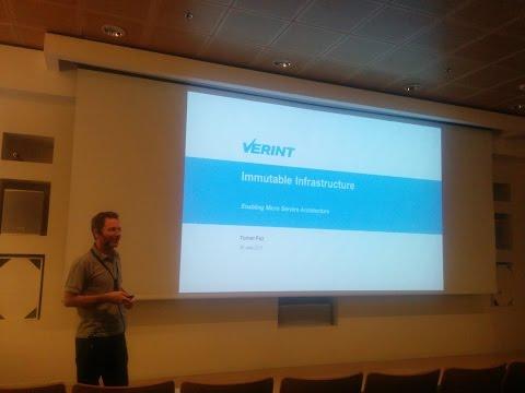 Immutable Infrastructure - Tomer Paz @ Verint (Heb)