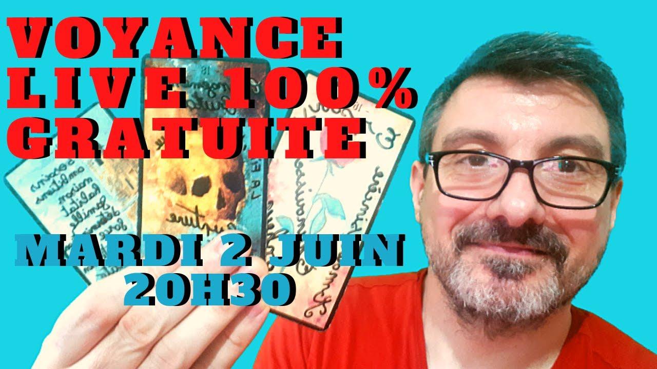 VOYANCE LIVE 100% GRATUITE !!! 🔮  UNE QUESTION PAR PERSONNE 🔮 POUR PARTICIPER  ABONNE TOI ET LIKE 👍