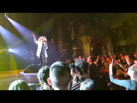 Tori Kelly - City Dove, live at The Beacon Theater 2016