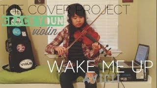 Avicii - Wake Me Up Violin Cover/Remix
