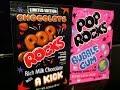 Pop Rocks Bubble gum and Pop Rocks Chocolate ( Limited edition ) - Produit Américain.