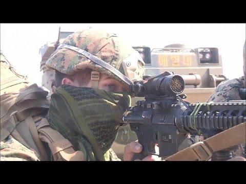北朝鮮「奇襲攻撃で対応する」 米韓軍事演習で(16/03/12)