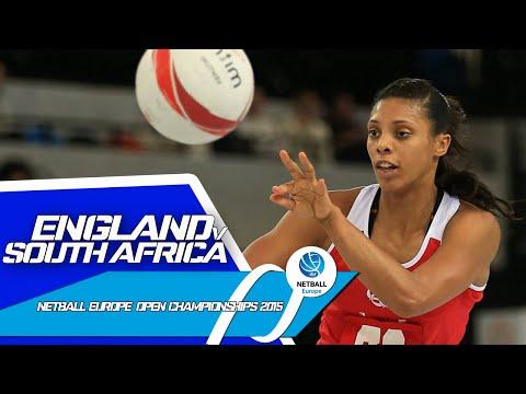 England v South Africa I Netball Europe Open Championships 2015