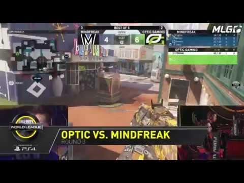 OpTic Gaming 3-0 MindFreak: CWL Anaheim Open 2017