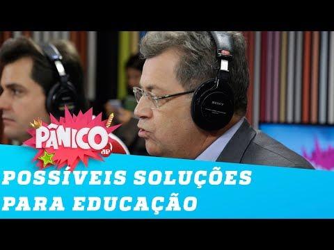 Crise na educação: deputado do PT e deputado do PSL discutem soluções
