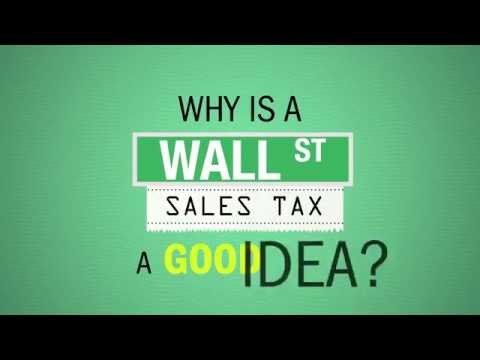 Robert Reich: Why is Wall Street Sales Tax a Good Idea?