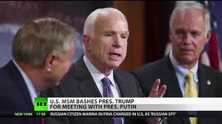 Media, Republicans Slam Trump Over Summit