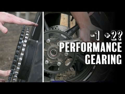 Gearing Your Bike for Power & Performance - How to Change Sprocket   Yamaha FZ6 S2