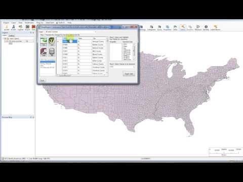 GIS 7: Matching Variables