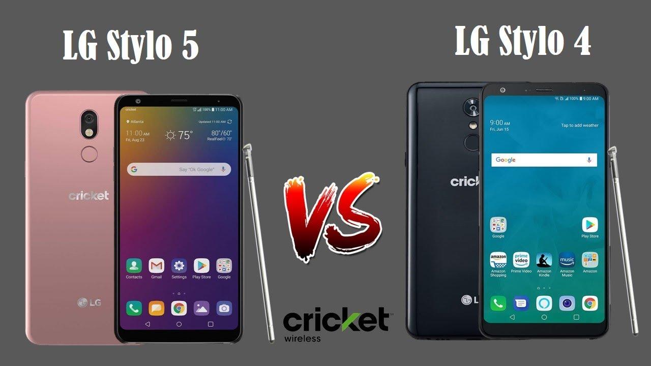 LG Stylo 5 vs LG Stylo 4 Cricket Wireless - What's ...