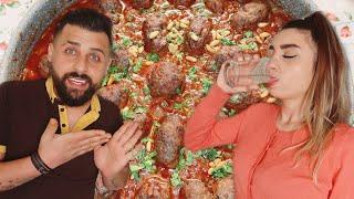 لأول مرة ننوش تصوم معي في رمضان😍 وحضرتلها أجمل سفرة رمضانية بأيدي😋 ريتشو وننوش