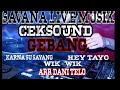 Savana Live Musik Ceksound Gebang Wik-wik Vs Hey Tayo Arr Dani Telo