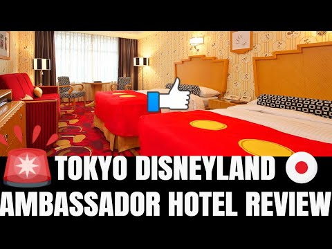 TOKYO DISNEY AMBASSADOR HOTEL REVIEW