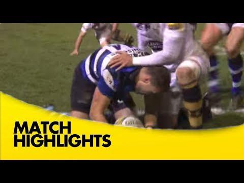 Bath Rugby V Wasps - Aviva Premiership Rugby 2017-18