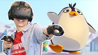 CUTE VR PUZZLE GAME! | Waddle Home (HTC Vive Gameplay)