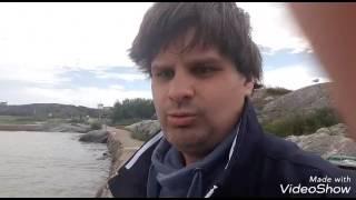 Jag på badplatsen Hjälvik på Öckerö Vlogg