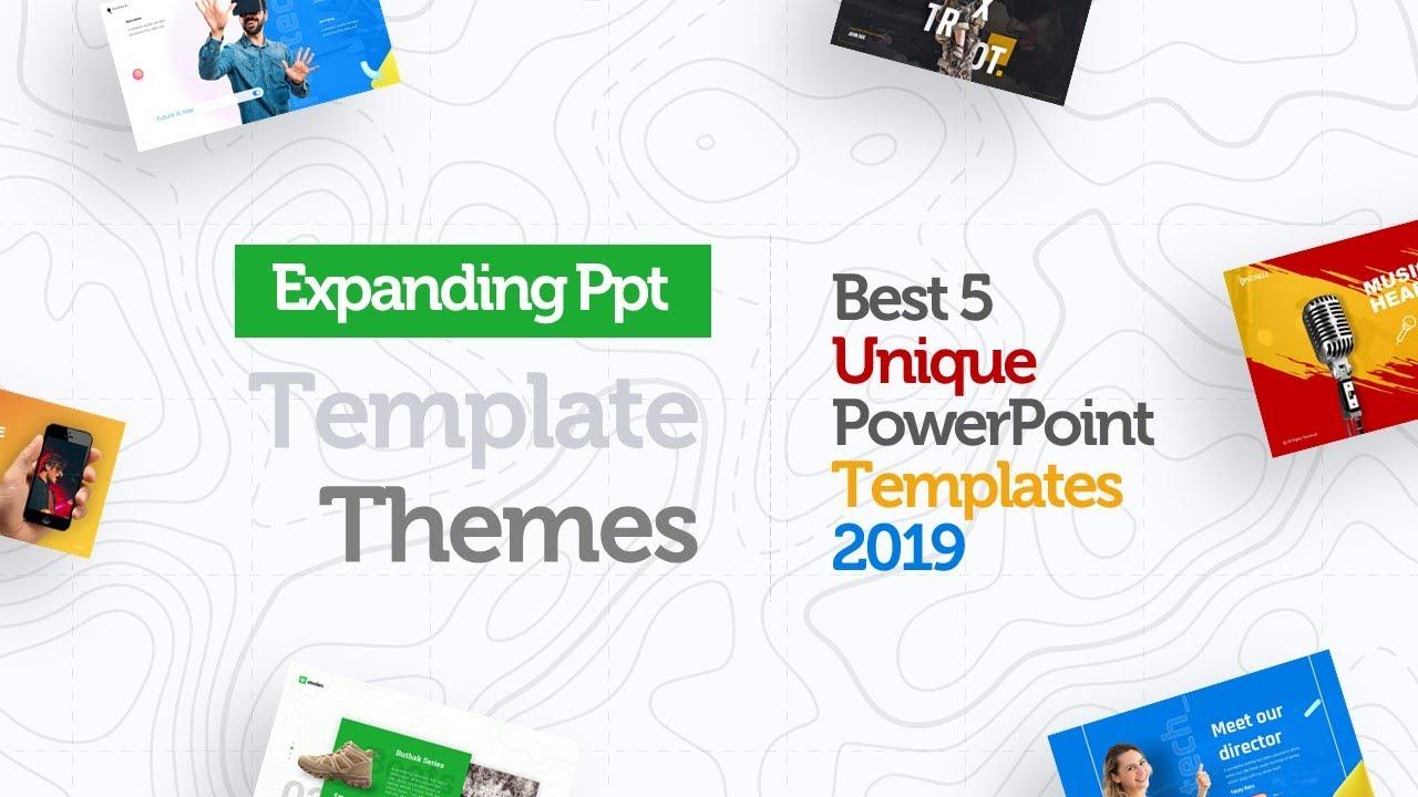 Expanding Powerpoint Template Themes Best 5 Unique Ppt Templates 2019