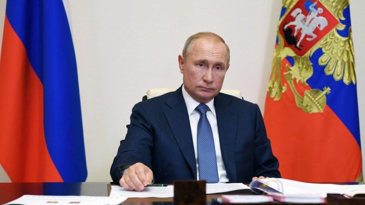 Путин на всероссийском открытом уроке
