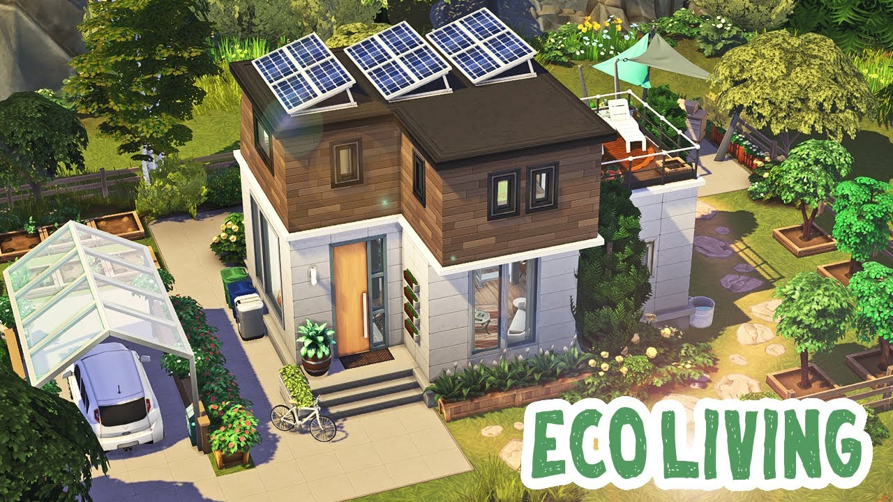 Eco Friendly House 🌱  The Sims 12: Speed Build