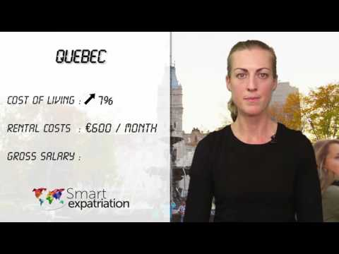 Quebec - Cost of Living, Rental Costs & Gross Salary