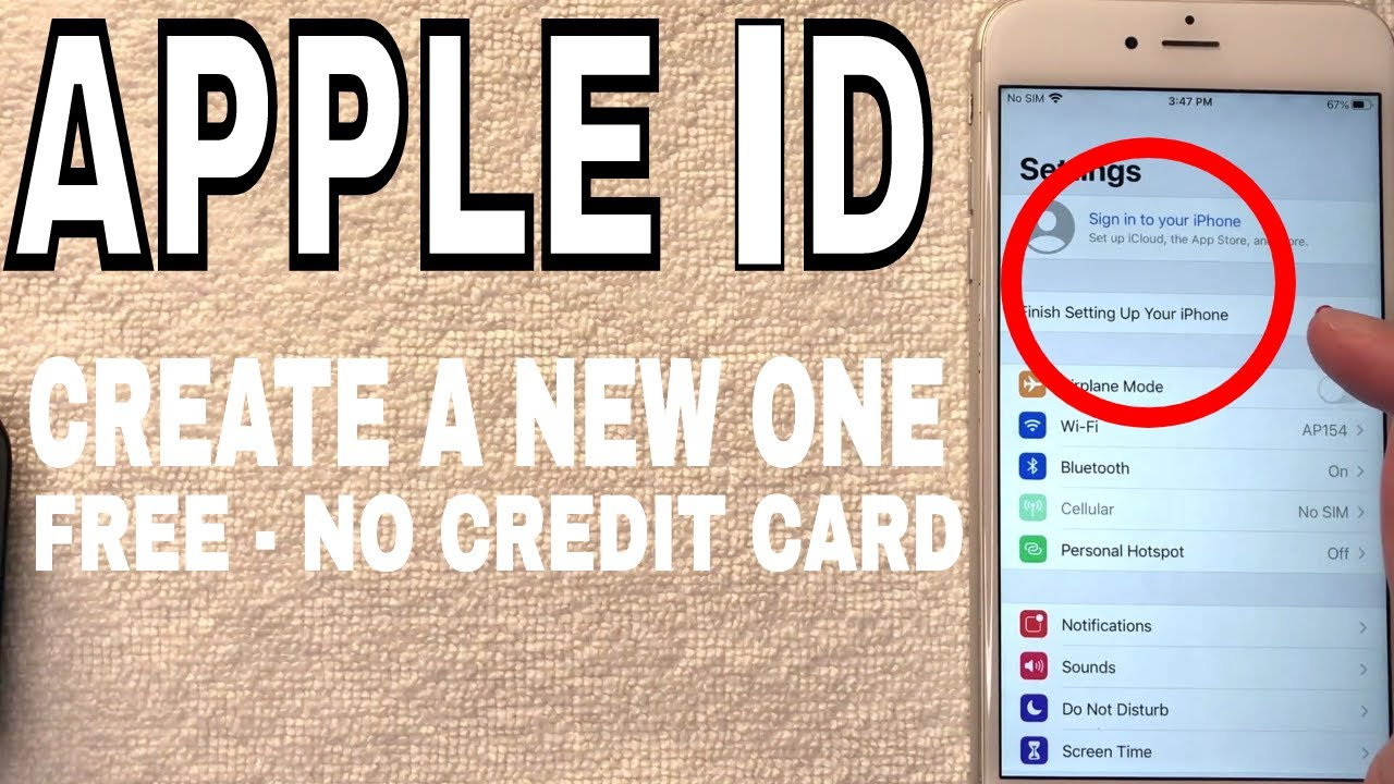 make free apple id without credit card